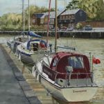 Quay at Newport, Isle Of Wight – Oil Painting and Art Prints