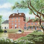 Elstead Mill Surrey Oil Painting – Art Prints