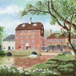 Elstead Mill Surrey Oil Painting – Art Prints
