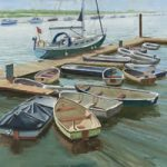 Boats at the Folly Inn Isle of Wight – Art Gallery