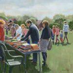 Bookstall at Littleton Fair – Art Prints