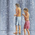 Boys In A Fountain – Art Prints and Painting