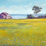 Buttercup Meadow Priddys Hard – Art Prints and Painting For Sale