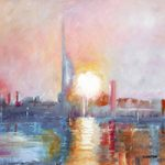 Dawn at Portsmouth Harbour – Art Prints and Painting For Sale