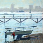 Foreshore at Hardway Sailing Club Gosport – Art Prints and Painting For Sale