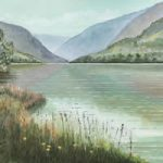 Glendalough Co Wicklow Lake and Mountains – National Park in Ireland – Art Prints