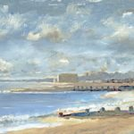 Hillhead Beach Towards Sailing Club –  Art Prints and Painting