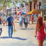 Market Day, Gosport High Street Art Gallery