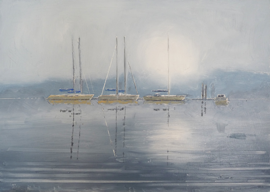 Misty Yachts Medina River Art Prints For Sale