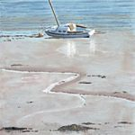 Mud Berth Portsmouth Harbour – Art Prints and Painting – David Whitson