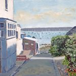 Old Hardway Lane Towards The Harbour – Art Prints and Painting For Sale