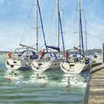 Three Legend Yachts, Bembridge Harbour, Isle Of Wight
