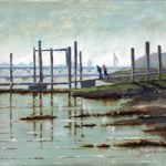 Pontoon at Hardway Sailing Club Portsmouth Harbour – Art Prints and Painting For Sale