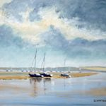 Portsmouth Harbour Towards Porchester – Art Prints and Painting For Sale