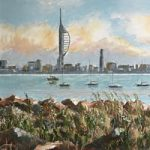 Portsmouth From Gosport Waterfront