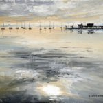 Sky Reflections Portsmouth Harbour – Art Prints and Painting For Sale