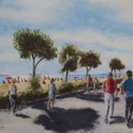 Summer Day Stokes Bay – Art Prints and Painting