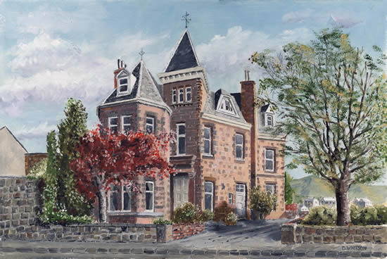 The Ridge House Stirling - Painting