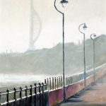 Winter Morning Portsmouth Harbour – Art Prints and Oil Painting For Sale