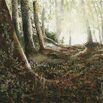 Woods at Abinger Common, Surrey – Art Prints For Sale